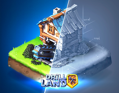 Drill Land | Game Art Project