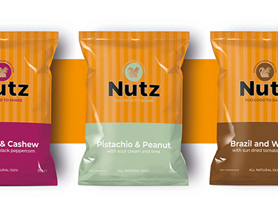 Nutz brand and packaging