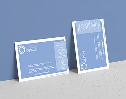 Coop Design Post Card | Nonprofit organization