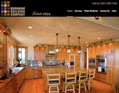 Wordpress Site - Burnham Building Company