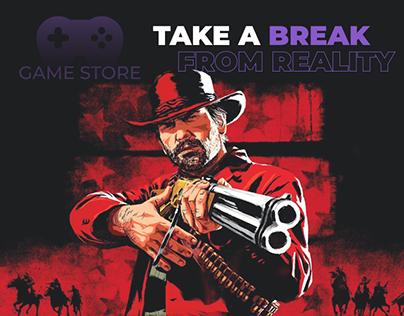 Game store | UI/UX design