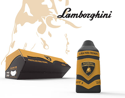 Rediseño de Packaging Lamborghini