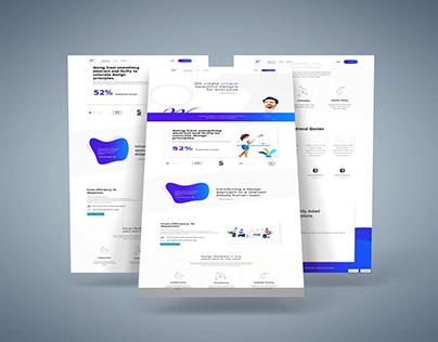 Agency Website Using Html, Css
