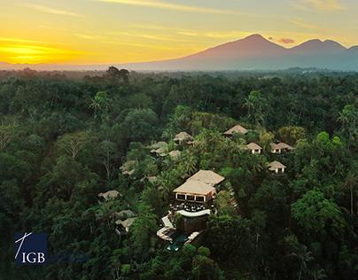 Hanging Garden of Bali - Hotel Photography
