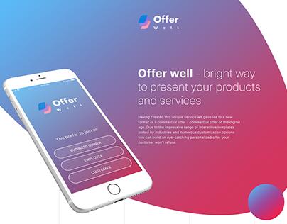 Offer Well Mobile App