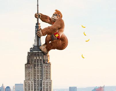 Giant Realistic Donkey Kong