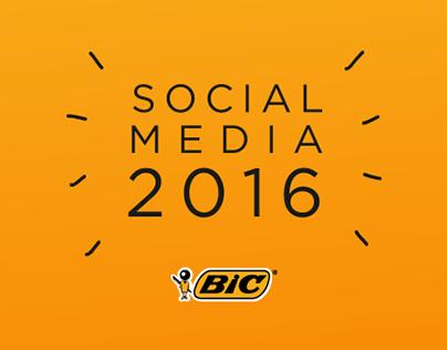 BIC Social Media 2016
