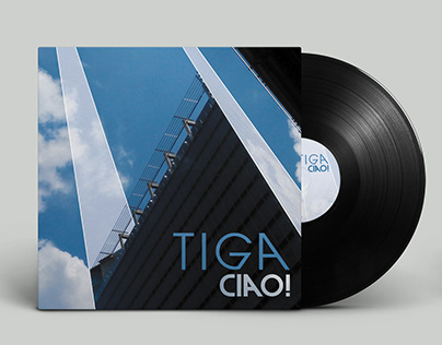 tiga ciao - album cover