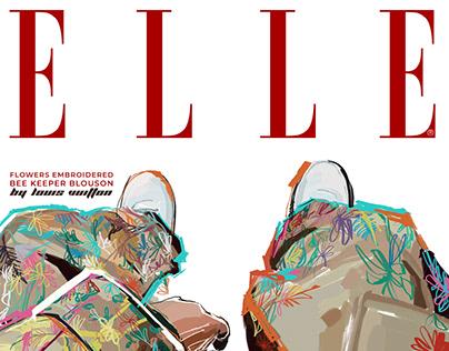 ELLE Bee Keeper Blouson by LV | Digital cover