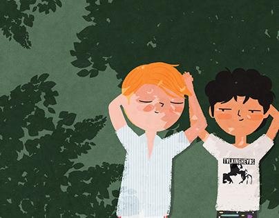 Oliver & Elio (fanart)
