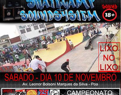 Flyer Campeonato de Skate