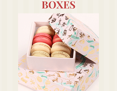 Innovative Custom Macaron Boxes