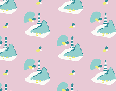 """Pattern """"Phare"""" - par Atelier Berlue - Solange Koesler"""