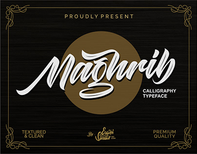 FREE | Maghrib - Calligraphy Typeface
