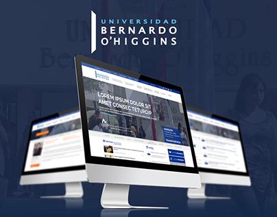 Redesign Web - Universidad Bernardo O'Higgins