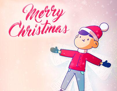 Merry Christmas Illustration Post AM Insights