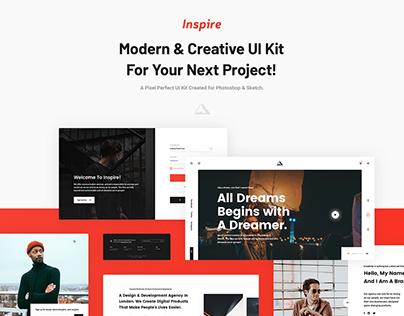 Inspire UI Kit