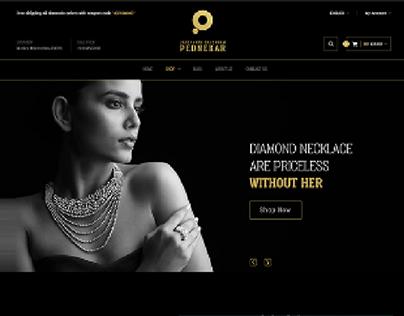 Jewelers Website UI Design