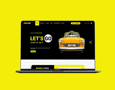 Pick Up Taxi Website