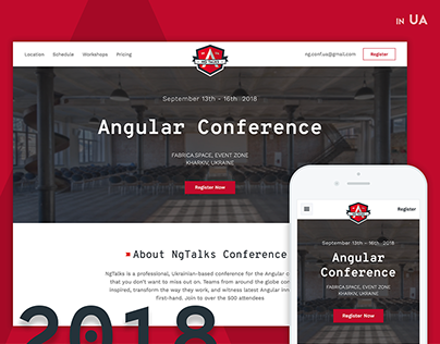 Angular Conference in Ukraine. Ng-Talks.