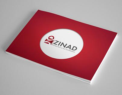 Zinad Brochure and magazine advert