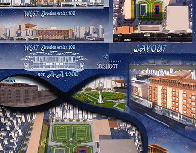 Development of Menoufia University Stadium