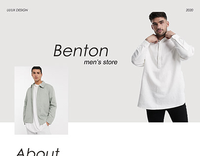 Benton-online clothing store