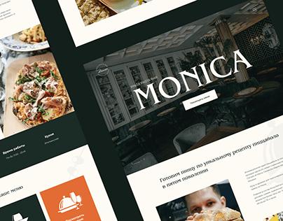 Italian restaurant   Landing Page