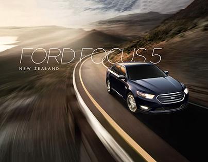 Ford Focus 5 . Microsite