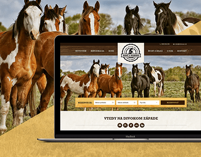 Website design for Ranch & Restaurant