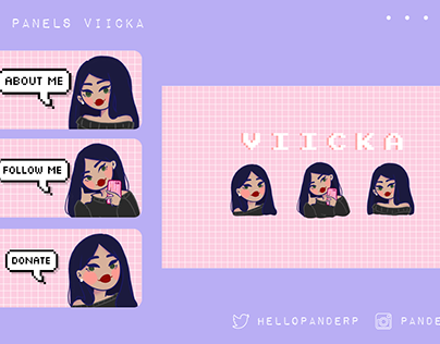 Twitch Panels: Viicka