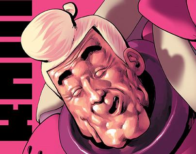 """Tramps in Space"" comics"