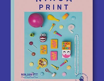 Catalog Design - Ninja Print