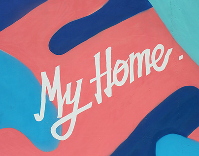 "Mural in Collaboration with "" 墾丁 MY HOME """