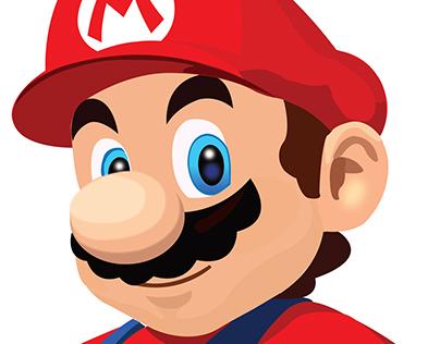 Mario Illustrator Portrait