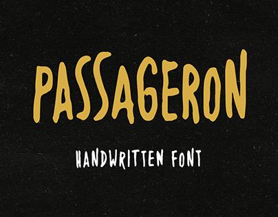Passageron Handwritten Font