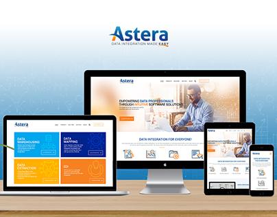 Astera Web Layout