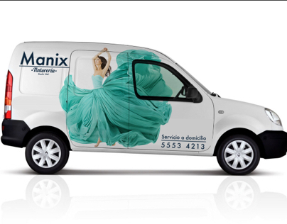 """Branding identity redesign for the drycleaner """"Manix"""""""