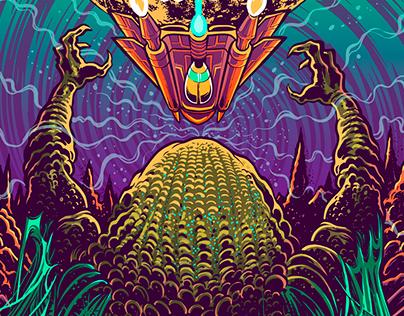 Risin Sabotage - Planet Dies LP