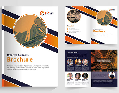 Creative Company Brochure 16 Pages