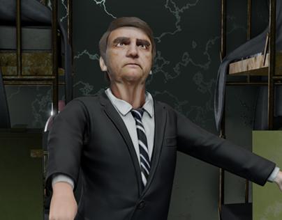 Politician Dancing/ 3D Animation