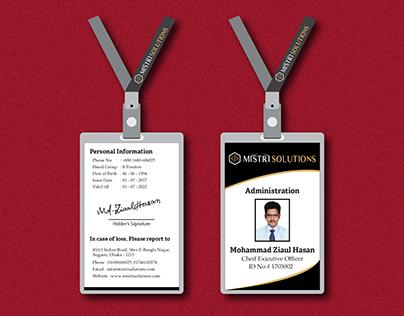 Free ID card Template-01
