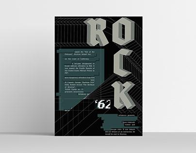 Alcatraz Island - Typography Poster