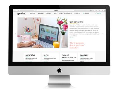 GENIAS Página Web
