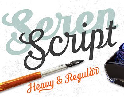 Seren Script by TypeFaith Fonts