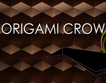 Origami Crow Landing Page