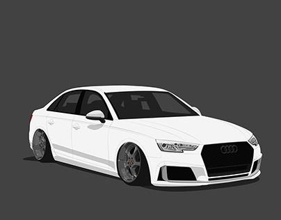 Dropped Audi