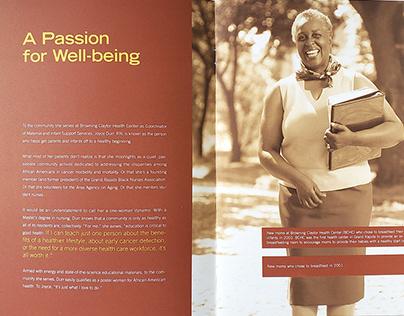 Saint Mary's | Health Beyond Health Care booklet