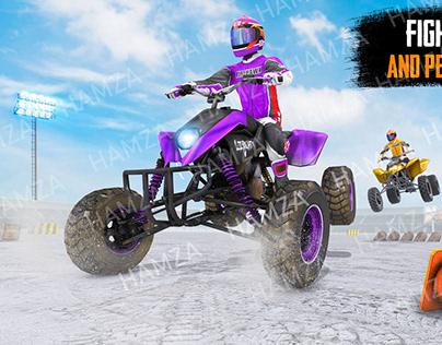 ATV Quad Bike 4x4 Derby : ATV Demolition Derby 2