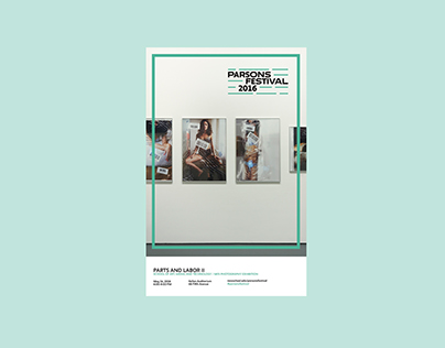 Parsons Festival Posters